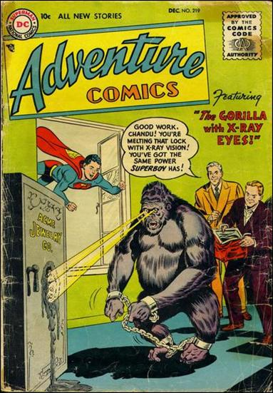 Adventure Comics (1938) 219-A by DC