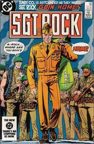 Sgt. Rock (1977) 392-A by DC