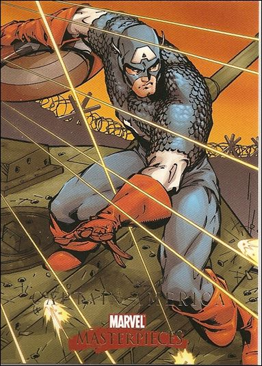 2008 Marvel Masterpieces: Series 2 (Base Set) 8-A by SkyBox