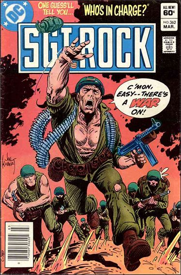 Sgt. Rock (1977) 362-A by DC