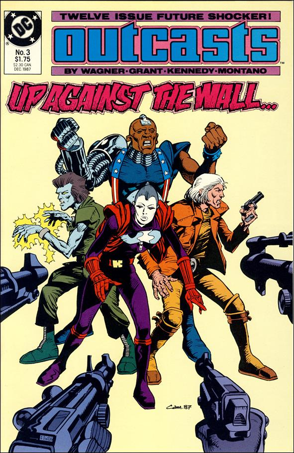 Outcasts 3-A by DC