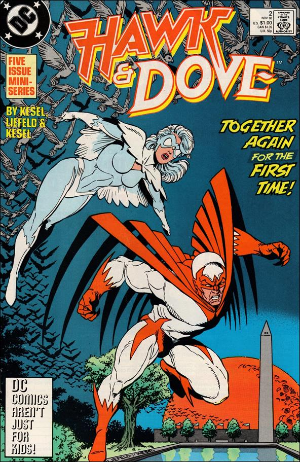 Hawk and Dove (1988) 2-A by DC