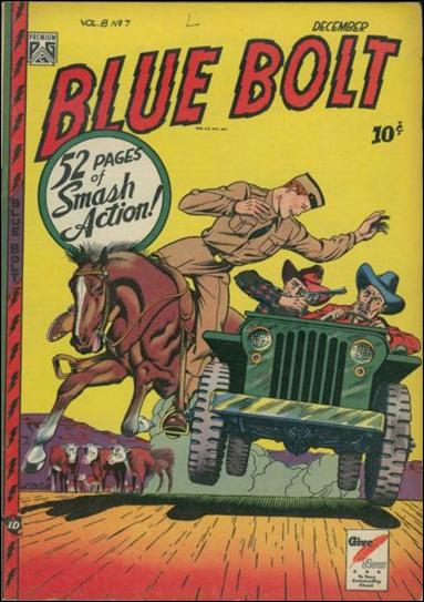 Blue Bolt (1947) 7-A by Premium