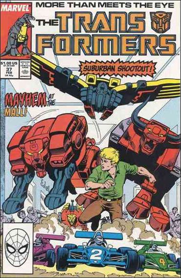 Transformers (1984) 37-A by Marvel