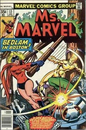 Ms. Marvel (1977) 13-A