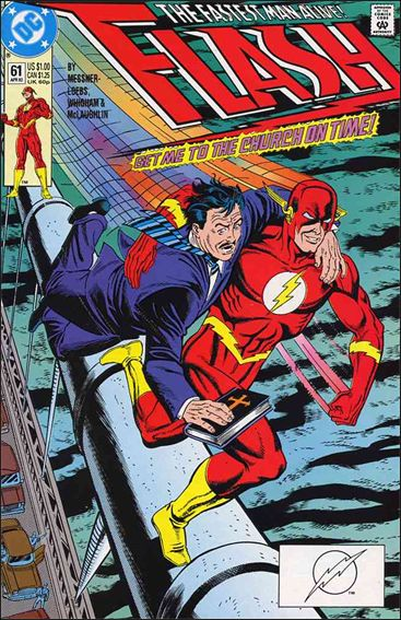 Flash (1987) 61-A by DC