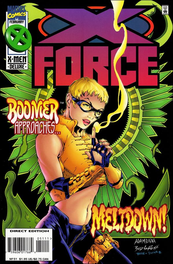 X-Force (1991) 51-A by Marvel