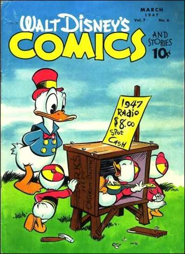 Walt Disney's Comics and Stories (1940) 78-A by Dell