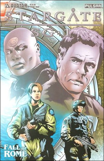 Stargate SG-1: Fall of Rome Prequel 1-C by Avatar Press