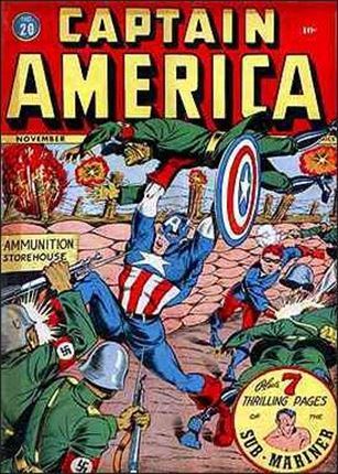 Captain America Comics (1941) 20-A