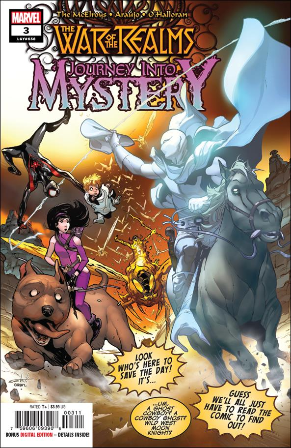 War of the Realms: Journey into Mystery 3-A by Marvel
