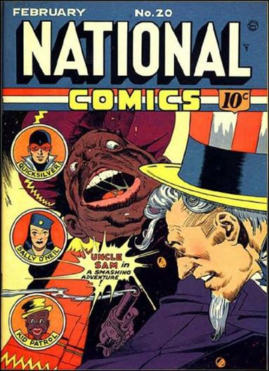 National Comics (1940) 20-A by Quality