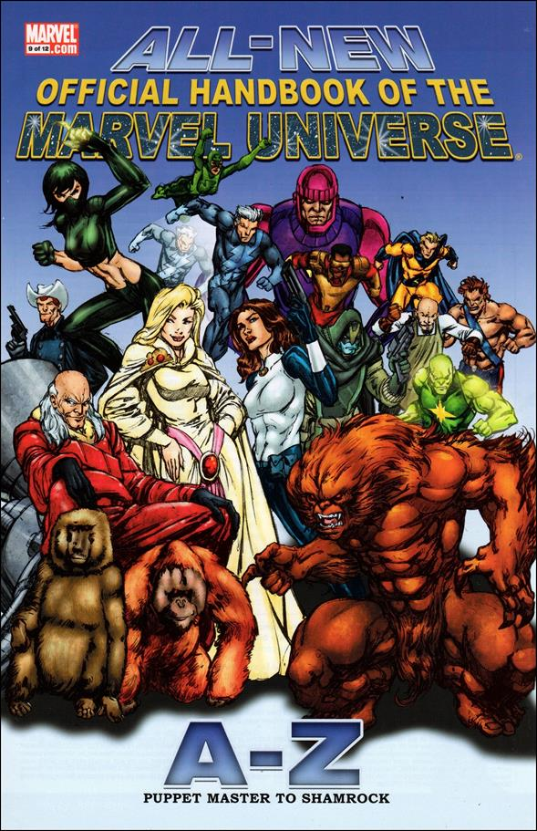 All-New Official Handbook of the Marvel Universe A to Z 9-A by Marvel