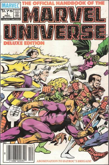 Official Handbook of the Marvel Universe (1985) 1-B by Marvel