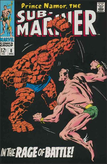 Sub-Mariner (1968) 8-A by Marvel