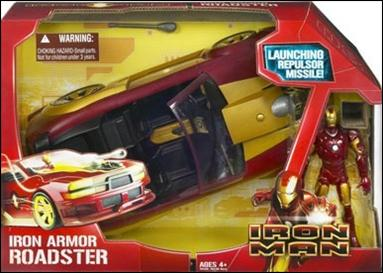 Iron Man (Movie) Vehicles Iron Armor Roadster by Hasbro