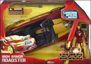 Iron Man (Movie) Vehicles Iron Armor Roadster