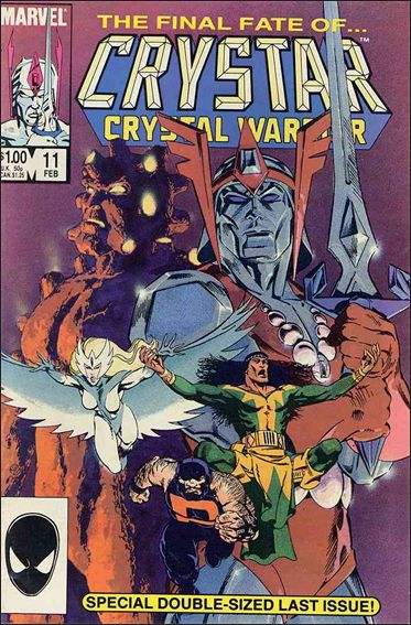 Saga of Crystar Crystal Warrior 11-A by Marvel
