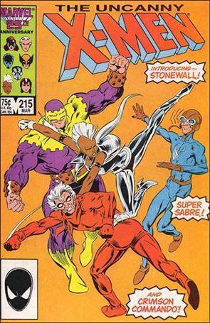 Uncanny X-Men (1981) 215-A