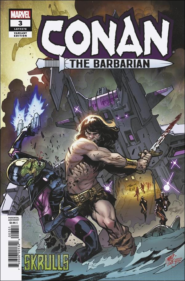 Conan the Barbarian (2019) 3-B by Marvel