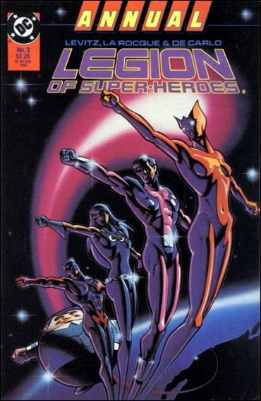 Legion of Super-Heroes Annual '3'-A by DC