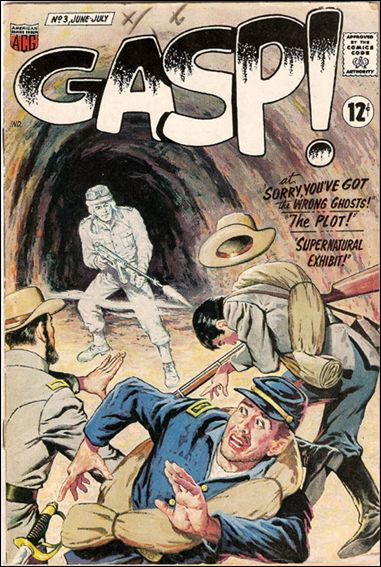 Gasp! (1967) 3-A by American Comics Group (ACG)