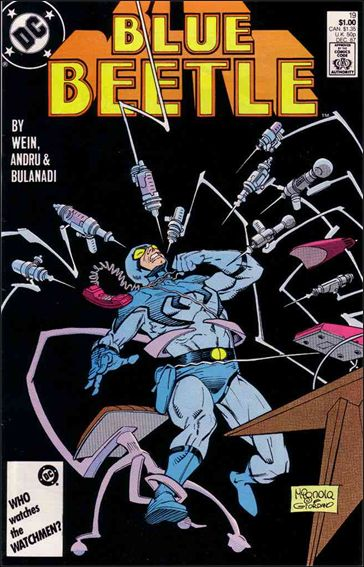 Blue Beetle (1986) 19-A by DC