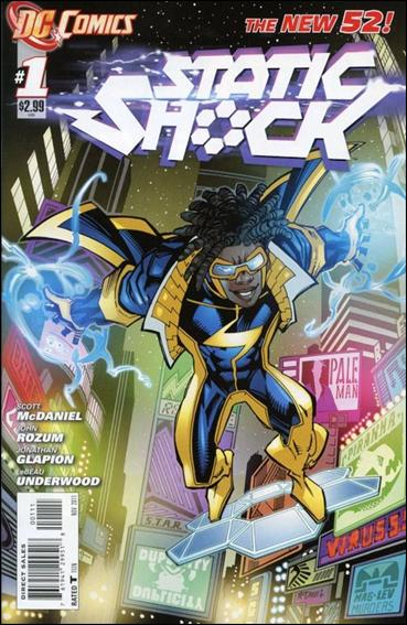 Static Shock 1-A by DC