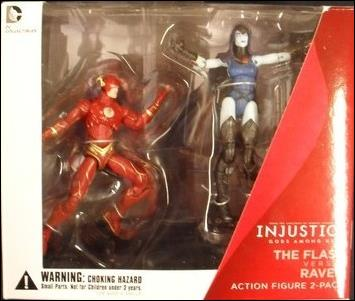 Injustice: Gods Among Us (2-Packs) The Flash versus Raven by DC Collectibles
