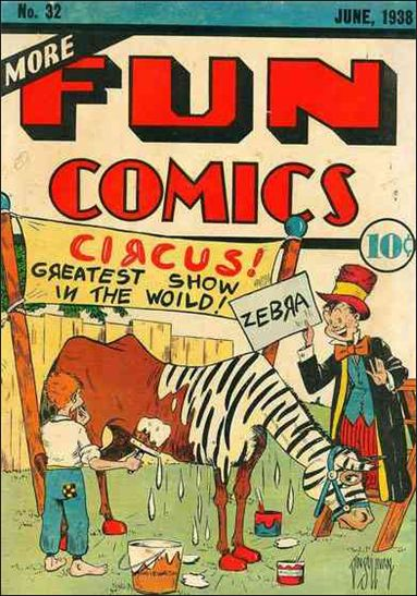 More Fun Comics 32-A by DC