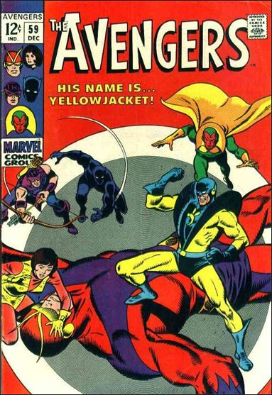 Avengers (1963) 59-A by Marvel