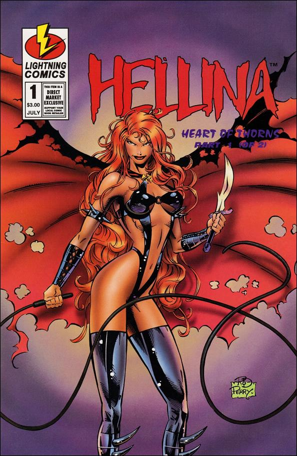 Hellina: Heart of Thorns  1-A by Lightning