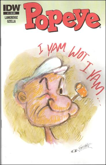 Popeye (2012) 1-B by IDW