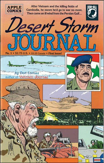 Desert Storm Journal 1-A by Apple