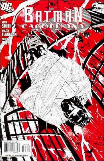 Batman Cacophony 3-A by DC