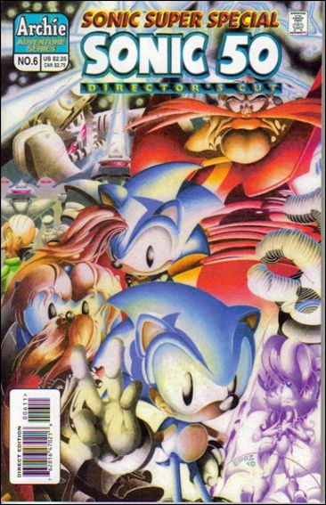 Sonic Super Special 6-A by Archie