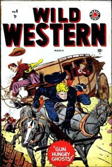 Wild Western 6-A by Marvel