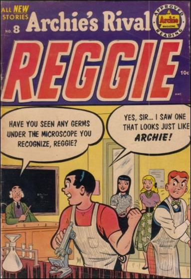 Archie's Rival Reggie 8-A by Archie