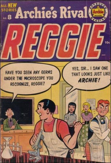 Archie's Rival Reggie 8-A by Archie