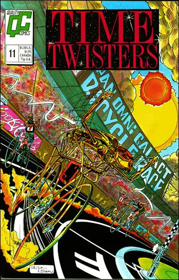 Time Twisters 11-A by Quality Comics