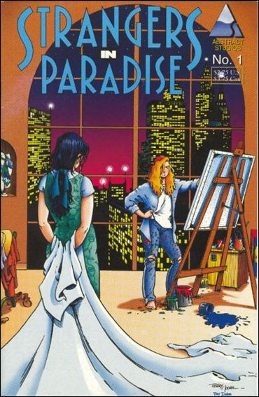 Strangers in Paradise (1994) 1-A by Abstract Studio