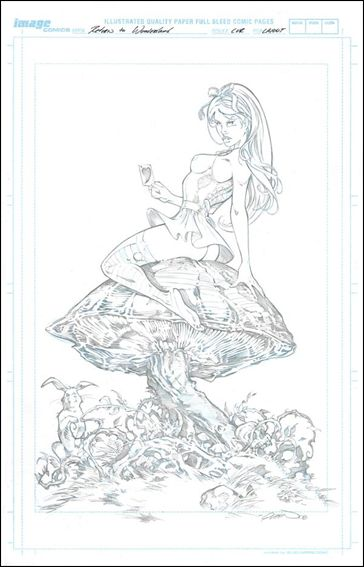 Return to Wonderland Volume 1 Cover B (Talent Caldwell) by Zenescope Entertainment