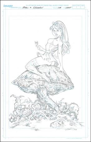 Return to Wonderland Volume 1 Cover B (Talent Caldwell)