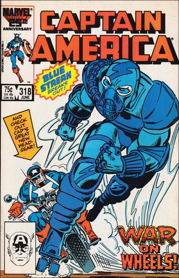 Captain America (1968) 318-A by Marvel