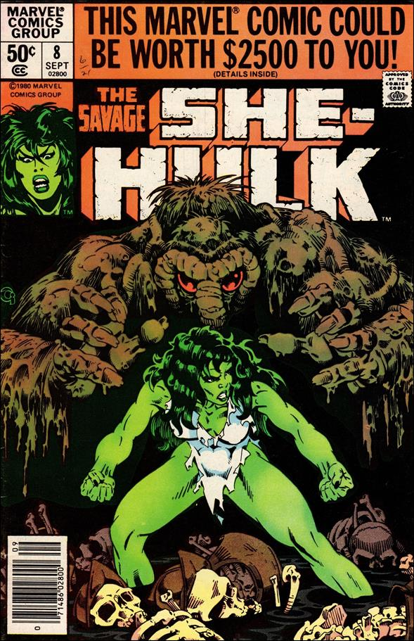 Savage She-Hulk 8-A by Marvel