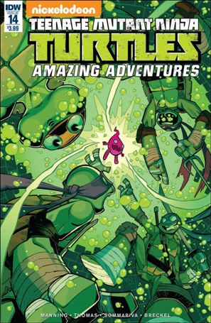Teenage Mutant Ninja Turtles Amazing Adventures 14-A