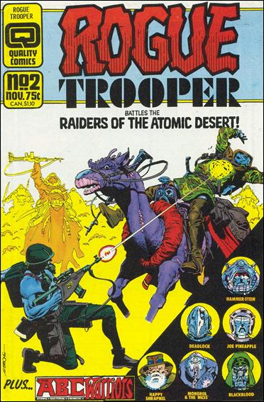 Rogue Trooper (1986) 2-A by Quality Comics