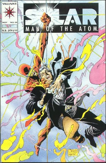Solar, Man of the Atom (1991) 15-A by Valiant