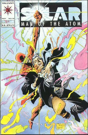 Solar, Man of the Atom (1991) 15-A by Valiant