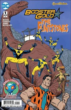 Booster Gold/Flinstones Special 1-A